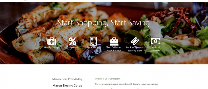 New Co-op Connections Website Released for Macon Electric Cooperative Members