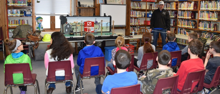 MEC Holds Electrical Safety Demonstration for North Shelby Elementary Students