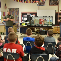 MEC Holds Electrical Safety Demonstration for Shelbina Elementary Students