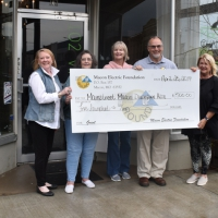 Macon Electric Foundation Awards Grant to Macon Downtown Association
