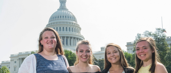 Local Youth Tour delegates experience Washington, D.C.