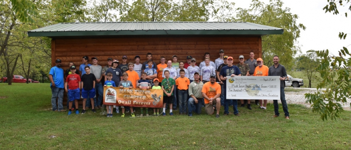 Macon Electric Foundation Awards Grant to Mark Twain Chapter of Quail Forever